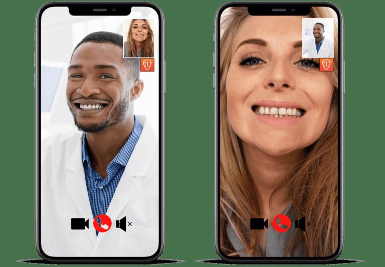 Showcase telehealth interaction